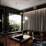 Apartament pokazowy osiedla Awangarda, pokój kawowy