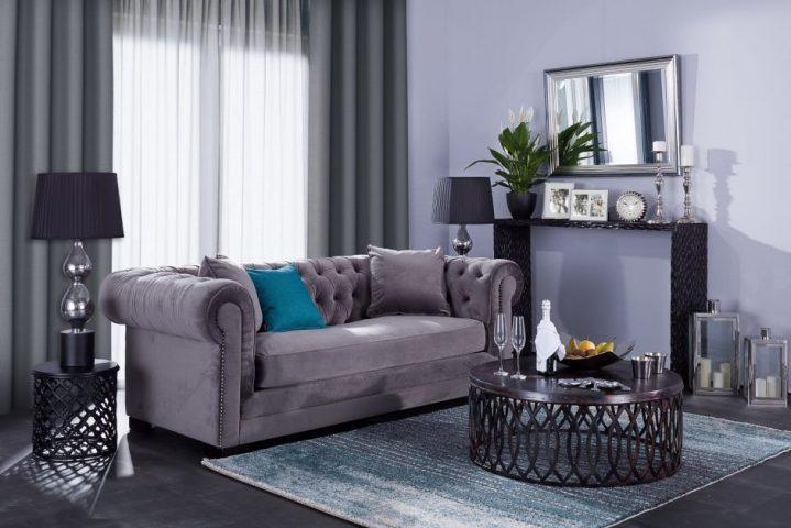 Dekoria.pl, sofa Chesterfield Classic Velvet