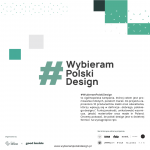 Plakat WybieramPolskiDesign