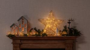 Dekoria.pl, dekoracja wiszaca Dreamed Star Led