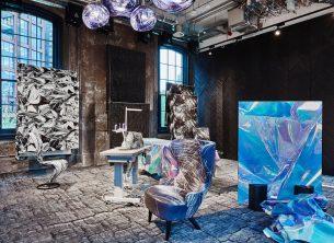Wystawa Hyper Real w Coal Office, nowej siedzibie Toma Dixona w Londynie fot. Aitor Santome i Tom Dixon Studio, mat. pras. EGE carpets (2)