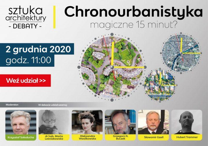 Plakat Chronourbanistyka m